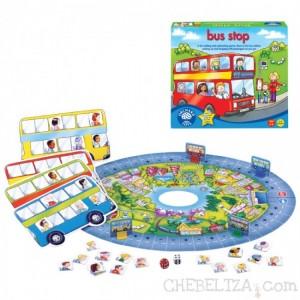 Zabavna igra za otroke Avtobusna postaja.